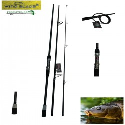 Lanseta Carbon Super Carp 4.0 Lbs  CA-2, Length:3.60m, Section:3