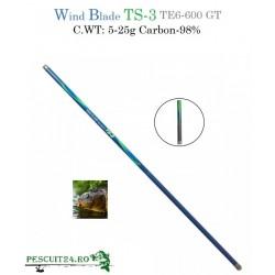 Varga/Undita TS-3  C.WT.5-25g carbon 98%  TE6-600GT