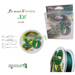 Fir textil X-Power FL X6 Super Strong Fishing Line 100m