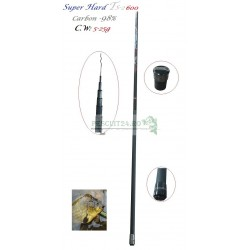Varga/Undita Super Hard TS-2 600 C.WT: 5-25g Carbon 98%, Lungime  6 m