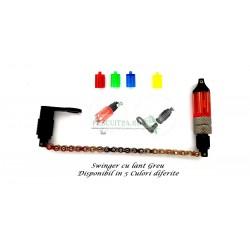 Swinger cu lant greu, suport pentru starlet, contra greutate, 5 culori interschimbabile