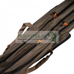 Husa Transport lansete/vergi Hakuyo, 3 compartimente si 2 buzunare laterale, lungime 1,35 m