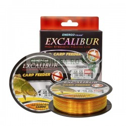 FIRE EXCALIBUR CARP FEEDER FLUO ORANGE-FLUO YELLOW CAMOU, Energofish, 300m
