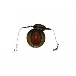 Montura method feeder incarcator mic cu buton