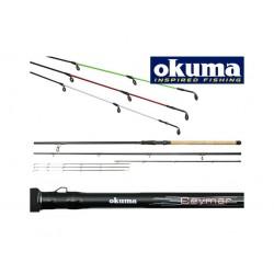Lanseta Feeder Okuma CEYMAR 3+3 BUC, Lungime  3,60m, Putere aruncare 60-120g